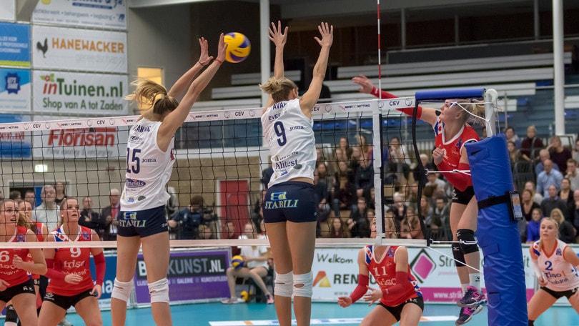 Volley: Cev Cup, buona la prima per Casalmaggiore