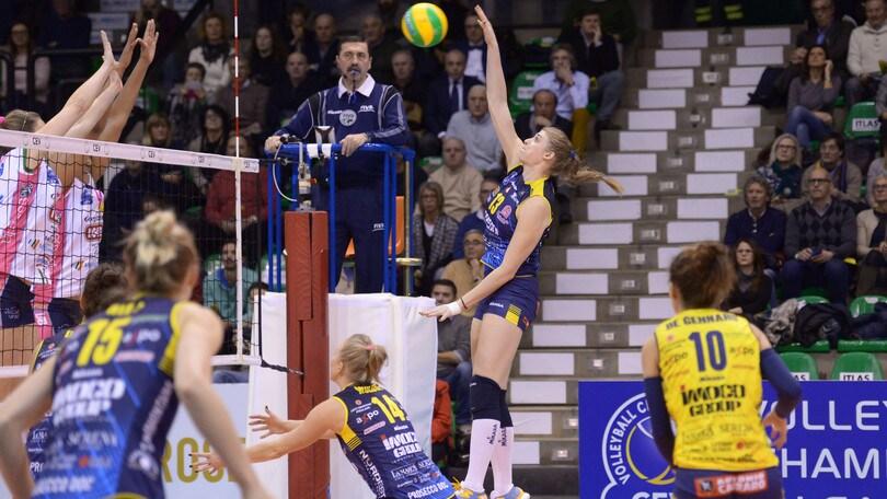 Volley: Champions Femminile, Conegliano vince nettamente il derby con Novara