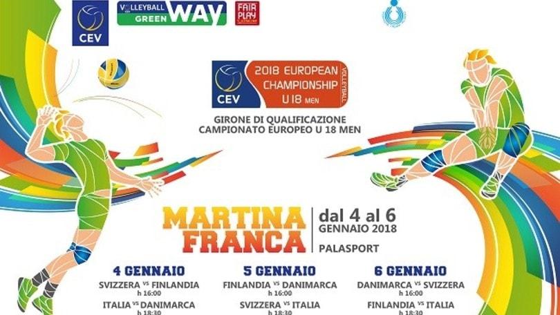 Volley: la nazionale Under 18 prepara la qualificazione Europea