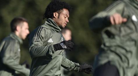 Juventus, problemi all'inguine per Cuadrado