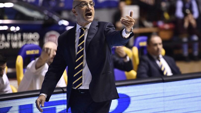 Basket Serie A, Vitucci nuovo coach di Brindisi