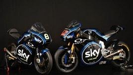 Moto2 e Moto3: lo Sky Racing Team VR46 svela le nuove livree