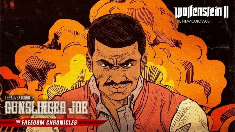 Wolfenstein II: disponibile Le avventure di Pistolero Joe