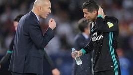 Zidane contro Renato: «Lui più forte di Cristiano Ronaldo? Non penso proprio»