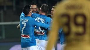 Torino-Napoli 1-3, Hamsik eguaglia il record di Maradona