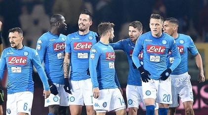 Serie A, Torino-Napoli 1-3: Hamsik come Maradona, Sarri si riprende la vetta