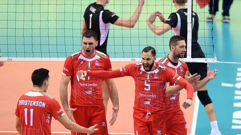 Volley: Mondiale per Club, fantastica Lube, schianta il Belchatow e va in finale