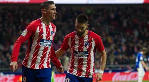Assist di Vrsaljko, gol di Torres: l'Atletico Madrid batte l'Alaves