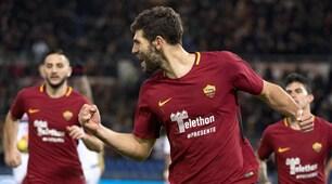 Roma-Cagliari 1-0, Fazio fa esplodere l'Olimpico al 94'