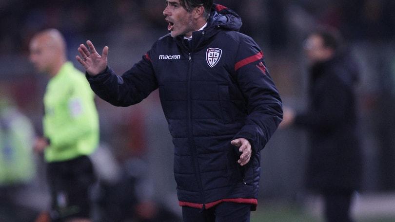 Serie A Cagliari, Lopez: «Il gol? Fazio la tocca con la mano»
