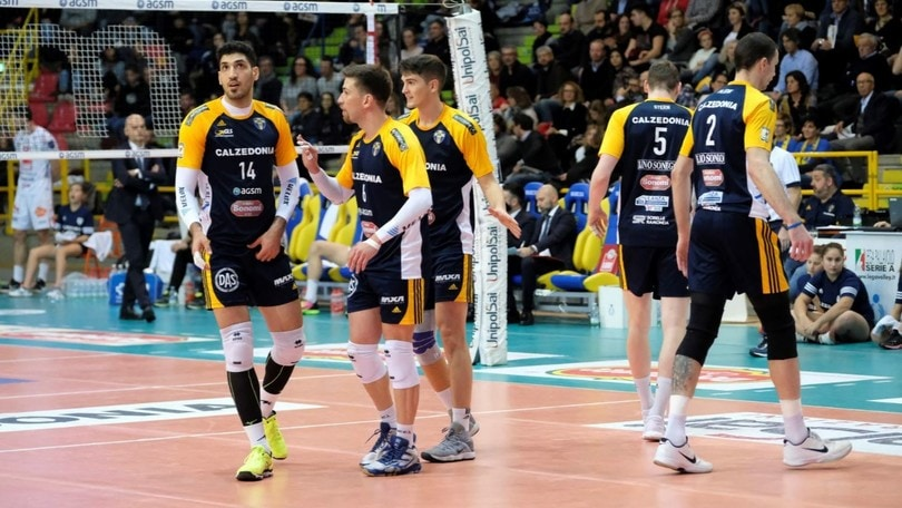 Volley: Superlega, Verona vince facile l'anticipo con Vibo