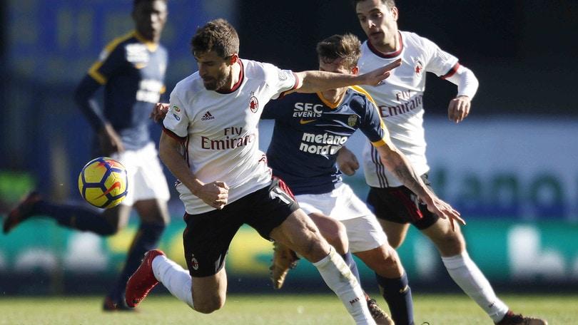 Serie A Verona-Milan 3-0, il tabellino