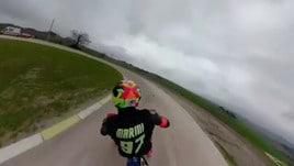 Moto, Morbidelli e Pasini vincono la «100km dei Campioni»