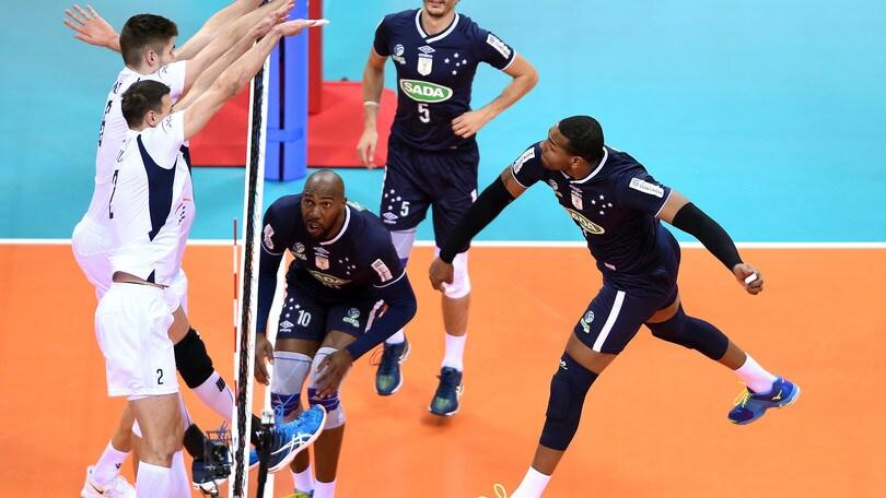 Volley: Mondiale per Club, il Cruzeiro sul terzo gradino del podio