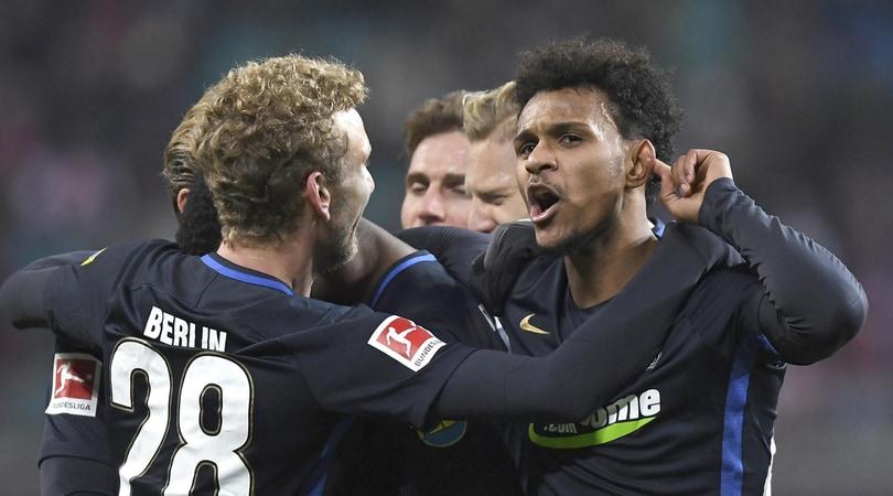 Bundesliga, Lipsia-Herta 2-3: gli eurorivali del Napoli crollano in casa