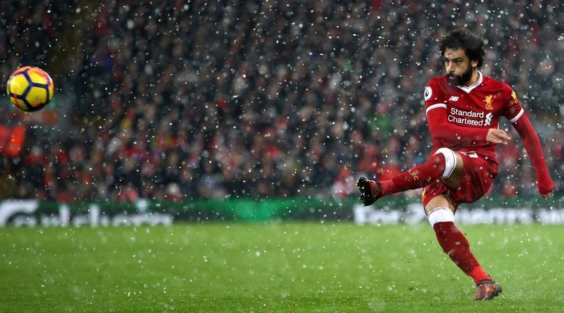 Salah, l'egiziano segna con il Liverpool e la Roma incassa