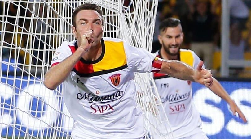 Il Benevento ritrova capitan Lucioni per tre giornate