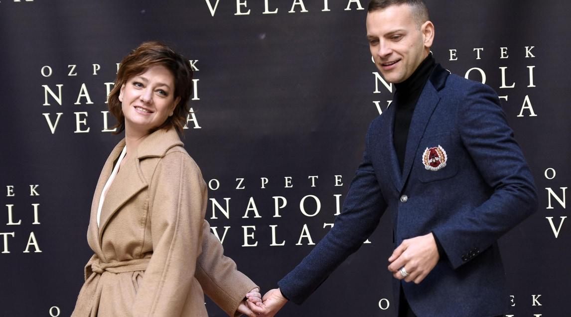 Napoli Velata Giovanna Mezzogiorno E Alessandro Borghi A Roma Corriere Dello Sport