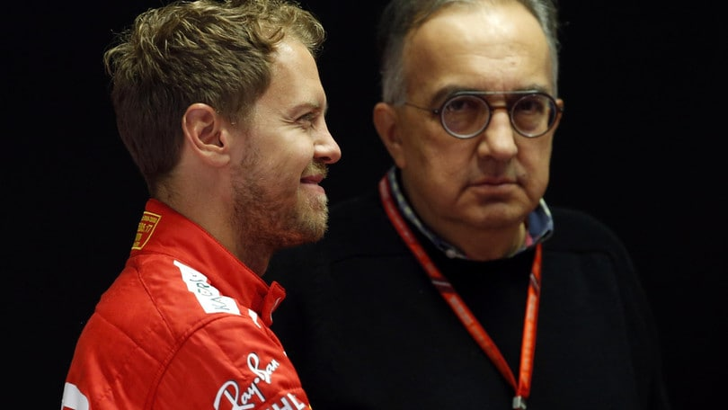 F1, Marchionne: «Vettel, animo meridionale»