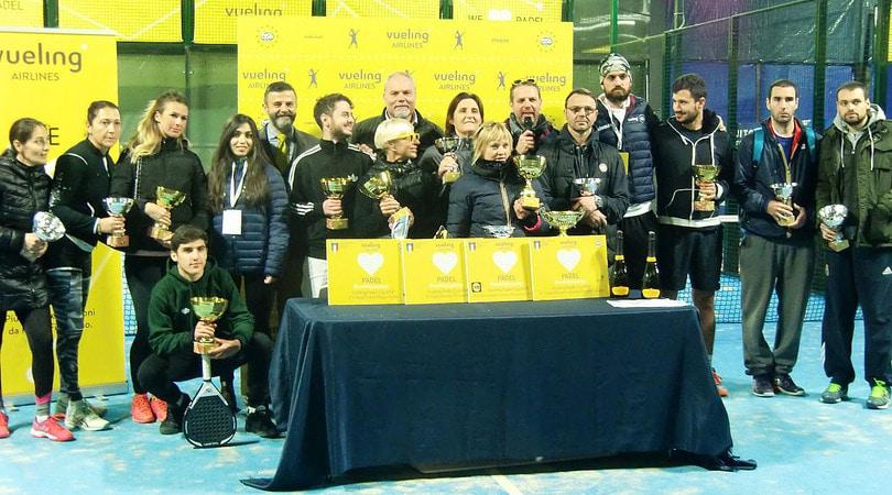Vueling Padel Cup: i premiati della prima edizione