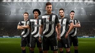 Juventus, arriva una nuova maglia: ma solo su FIFA 18