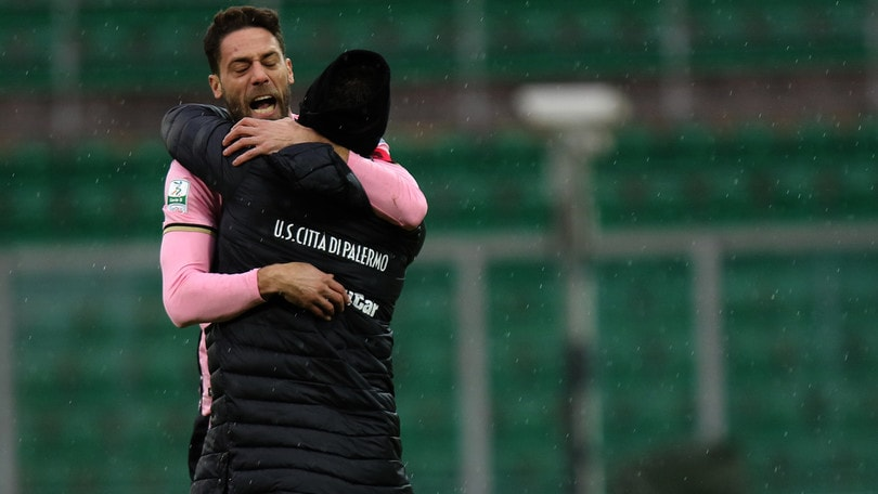 Serie B, Palermo capolista: primo posto finale a 3,50