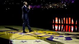 Lakers, ritirate le due maglie di Bryant: che emozioni allo Staples!