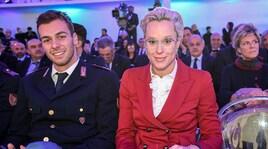 Che look Federica Pellegrini ai Collari d'Oro!