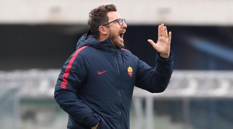 Di Francesco: «Sfida con la Juve? Dirà tanto sulla forza della Roma»
