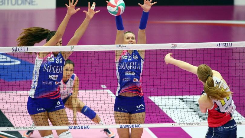 Volley: Coppa Italia Femminile, scattano i quarti di finale