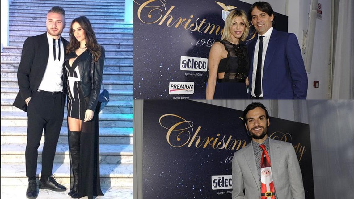 Lazio, cena di Natale show tra wags... e la cravatta di Parolo!