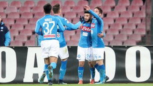 Napoli-Udinese 1-0, Insigne porta Sarri ai quarti di Coppa Italia
