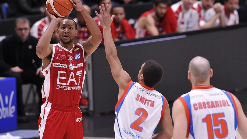 Basket, Eurolega: Milano-Vitoria, il «2» avanti di un soffio