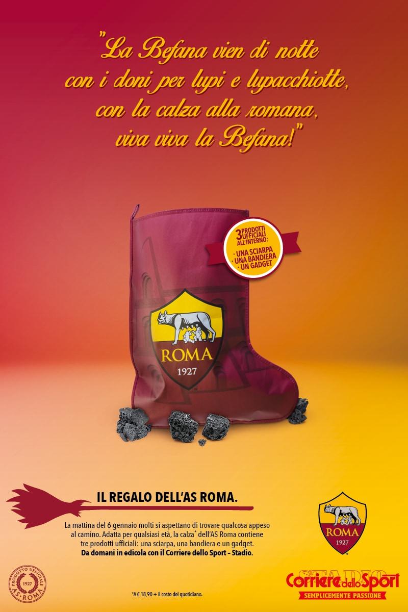 Calza Befana AS Roma