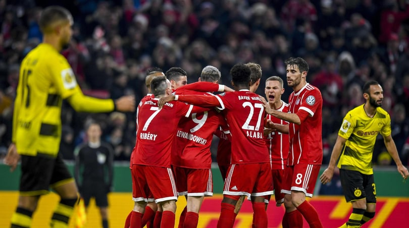 Coppa Germania, Bayern ai quarti: battuto il Dortmund 2-1