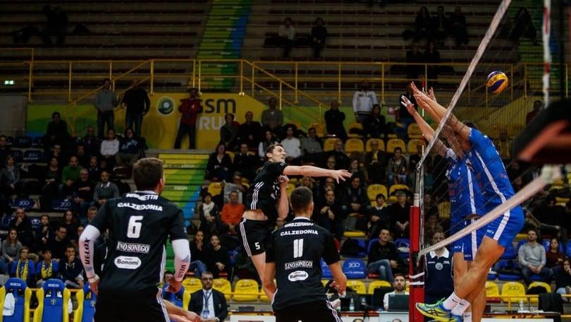 Volley:  Cev Cup, Verona ok con il Ribnica, è qualificazione agli ottavi