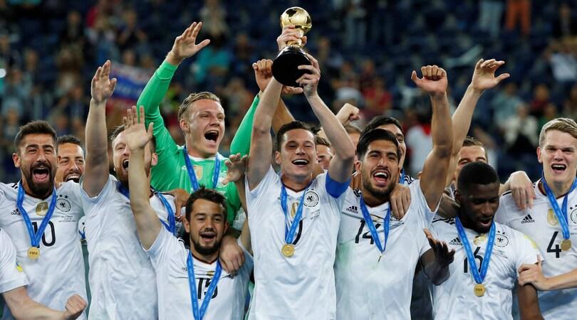 Fifa, ranking 2017: Germania chiude in testa, Italia fuori dalla Top 10