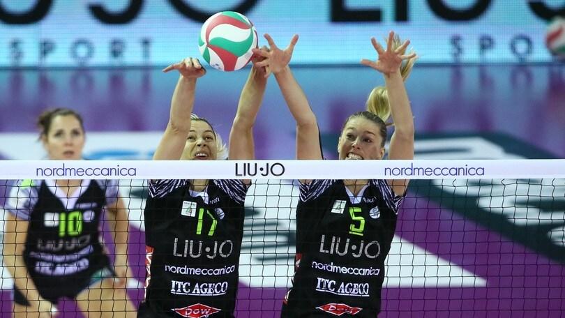 Volley: Coppa Italia A1 Femminile, Modena vince la battaglia con Busto