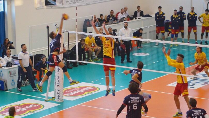 Volley: A2 Maschile, domani si giocano Mondovì-Bergamo e Gioia del Colle-Ortona