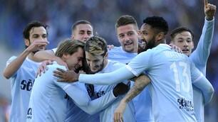 Lazio-Crotone 4-0, che poker all'Olimpico!