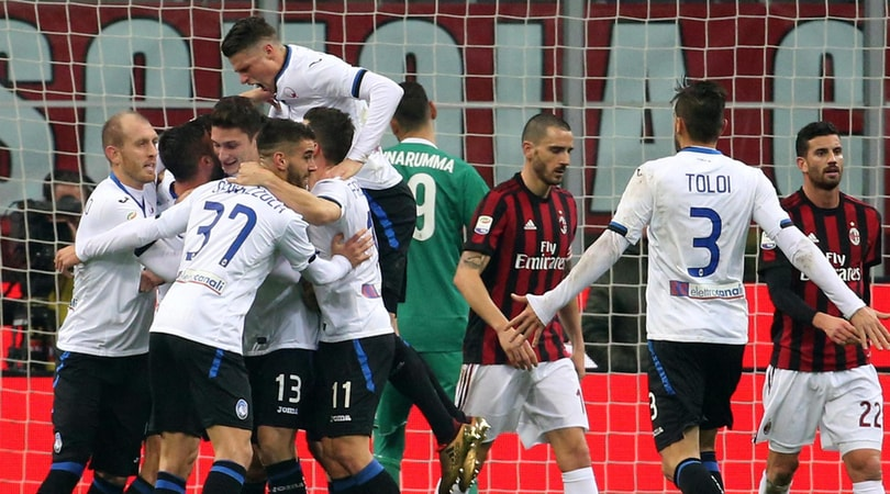 Serie A, Milan-Atalanta 0-2: Cristante-Ilicic, per Gattuso è crisi senza fine