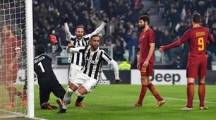 Juventus-Roma, le emozioni del match