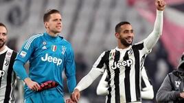 Juventus: Szczesny, Benatia e Pjanic da applausi. I tre ex Roma festeggiano allo Stadium