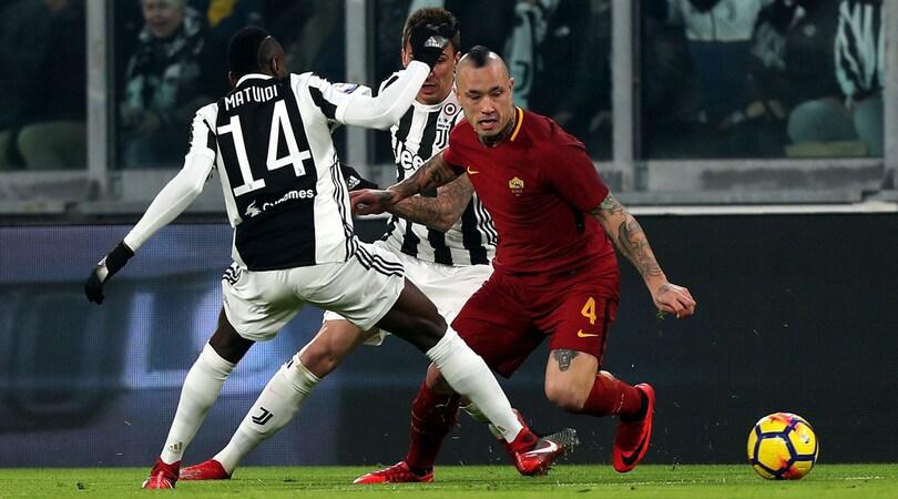 Roma, Nainggolan: «Perdere con la Juve non è un dramma. Landucci? Mi ha mandato a quel paese»