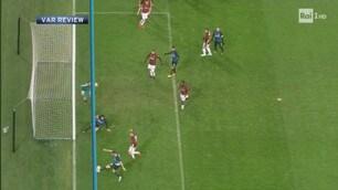 Milan-Inter, il Var annulla l'autogol di Antonio Donnarumma
