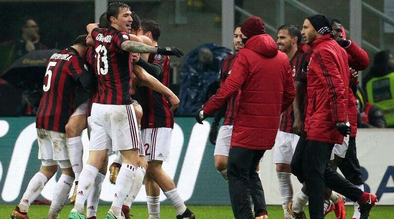 Coppa Italia, Milan-Inter 1-0: Cutrone decide il derby ai supplementari