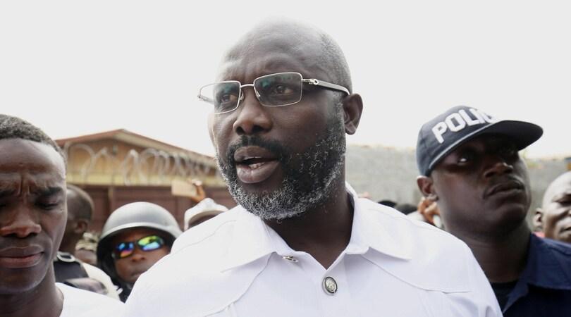 George Weah ce l'ha fatta: è il nuovo presidente della Liberia