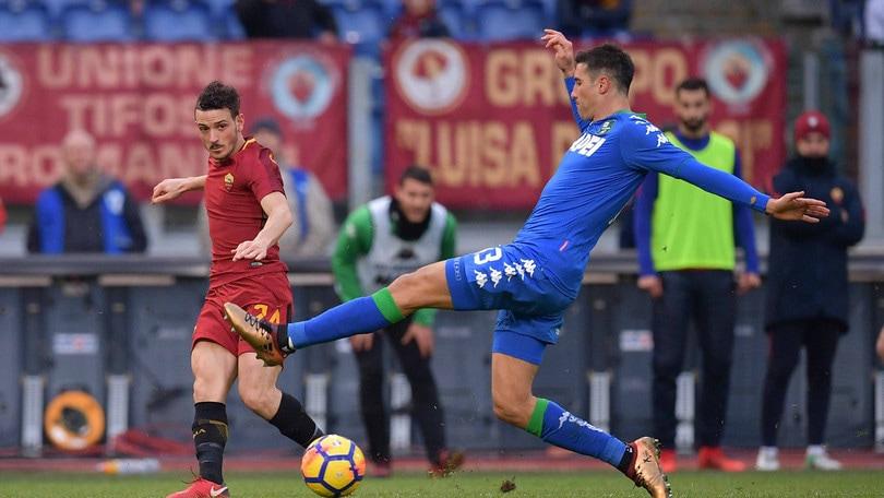Serie A Roma-Sassuolo 1-1, il tabellino