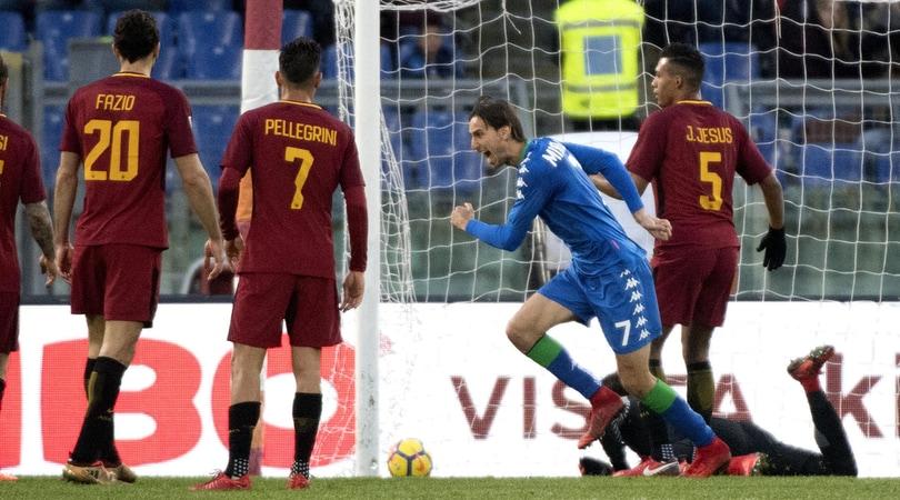 Serie A, Roma-Sassuolo 1-1: Missiroli e il Var fermano Di Francesco
