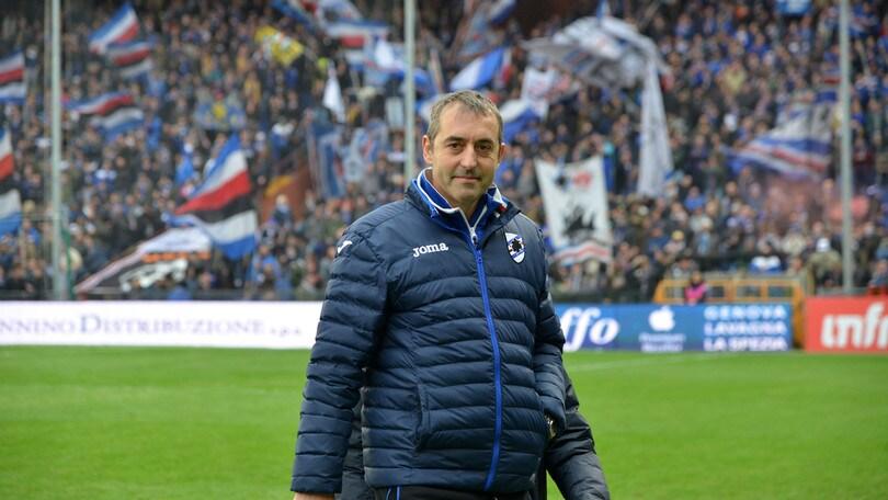 Serie A Sampdoria, Giampaolo: «Campo orrendo. Quagliarella super»